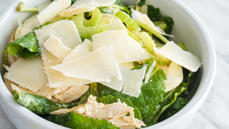 Non-Recipe: Healthy Chicken Salad With Fennel And Baby Kale
